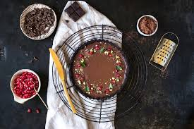 gesunder chocolate pie ohne datteln vegan und glutenfrei