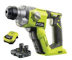 Ryobi Wet Tile Saw Cordless by Ryobi One R18sds 2bc13 18v Cordless Sds Rotary Hammer Drill With