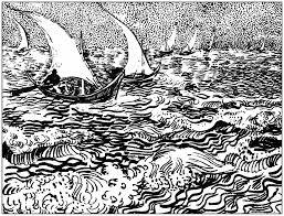 Coloreando Letras Conociendo A Vincent Van Gogh Y Su Arcoiris De