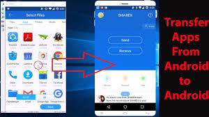 How to Transfer Apps from e Android Phone to Another No Wi Fi