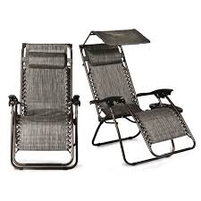 FLAMROSE Zero Gravity Stylish Recliner Outdoor Patio Pool ...