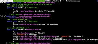That Is Produce Java Code This May Be Used Indepdently Of D To Show Both Decomp And Disass Experimental However