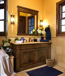 Small Rustic Bathroom Vanity Ideas by Using Small Shape And Wooden Vanity Decoration Ideas For