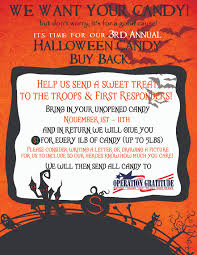Operation Gratitude Halloween Candy by Silversmith Orthodontics Blog