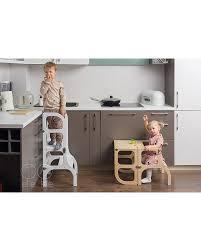 All-in-one Dark BROWN Color/GOLD Clasps Montessori Furniture ...