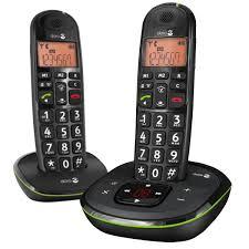 doro phoneeasy 105wr duo noir téléphone sans fil doro sur ldlc