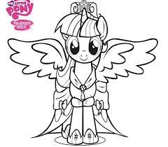 Trend My Little Pony Princess Coloring Pages 12 For Your Free Kids With