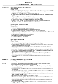Senior Web Developer Resume Samples   Velvet Jobs Web Developer Resume Examples Unique Sample Freelance Lovely Designer Best Pdf Valid Website Cv Template 68317 Example Emphasis 2 Expanded Basic Format For Profile Stock Cover Letter Frontend Samples Velvet Jobs