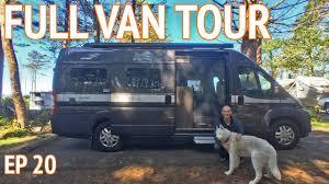 Solar Powered Conversion Van Tour