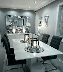 Blue Gray Dining Room Walls White And Table Fantastic Ideas
