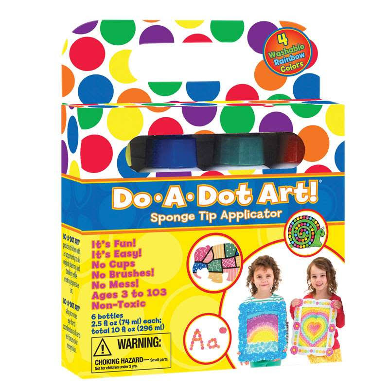 Do-A-Dot 4-Pack Rainbow Markers