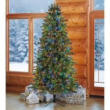 75 Slim Artificial Pre Lit LED Christmas Tree