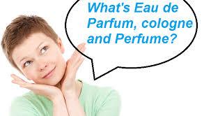 the difference between eau de parfum toilette cologne and