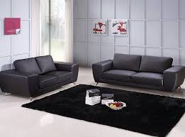 Black Sofa by Beverly Hills Furniture