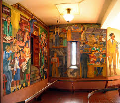Coit Tower Murals Prints by Coit Tower Murals Works Progress Administration Social Realism