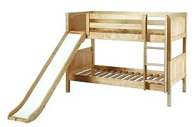 Bunk Beds With Slide Bunk Bed With Slide For Two Kids Bunk Beds