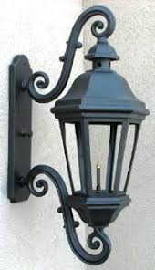 the lebeau grande aluminum gas light wall mount gas