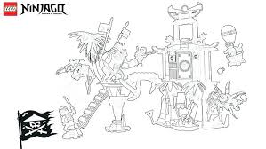 Coloring Pages Lego Ninjago Kai Zx Full Size