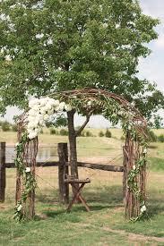 Wedding Arch Flowers Hydrangeas Rustic Barn Venue Dallas DFW Texas