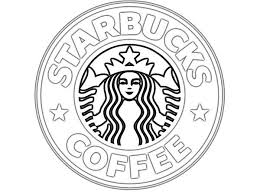 Wonderful Ideas Starbucks Coloring Page Magnificent Logo Colouring Pages Basic Things Pinterest