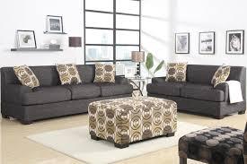 Poundex 3pc Sectional Sofa Set by Bobkona Poundex Benford Collection Faux Linen Chaise Sofa 2 Piece