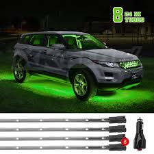 100 Car Truck New Gen Under SUV Boat Underglow Tube Lights Wide Angle