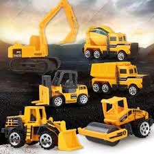 100 Construction Trucks Simulation Engineering Vehicles Car Kids Children Toy Gift