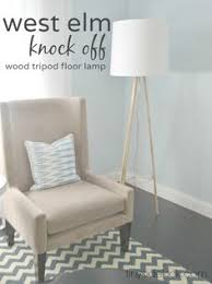 West Elm Overarching Floor Lamp Instructions by West Elm Inspired Tripod Floor Lamp Knock Off Decor Series