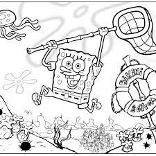 Download SpongeBob Coloring Pages Online