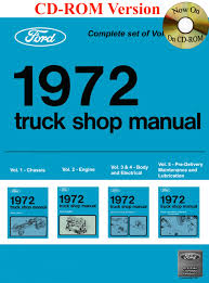 100 1972 Ford Truck Parts Shop Manual Motor Company David E LeBlanc