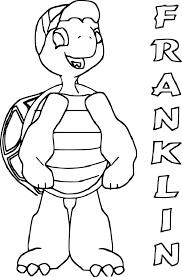 √ Coloriage Franklin Imprimer Sur COLORIAGES Info