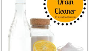 Natural Sink Clog Remover by Homemade Drain
