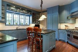 Light Blue Subway Tile by 25 Blue And White Kitchens Design Ideas Designing Idea
