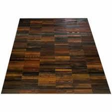 Vintage Leather Belt Area Rug United Kingdom Circa 21st Century The Flooring Is A