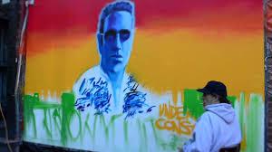 Joe Strummer Mural New York City by Nyc Joe Strummer Mural Time Lapse Youtube