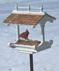 Squirrel Feeder Adirondack Chair by Victorian Style Birdfeeder Woodworking Plan From Wood Magazine