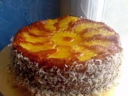 dessert ananas noix de coco pomme cannelle gâteau à l ananas