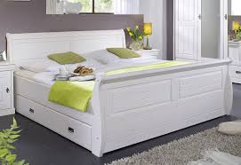schlafzimmer set komplett 180x200 vollholz kiefer massiv weiß