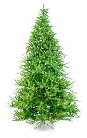 Downswept Douglas Fir Artificial Christmas Tree by National Tree Pre Lit 7 1 2 U0027 Feel Real Tiffany Fir Hinged