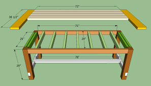 Diy Dining Table Plans Photo Full Size