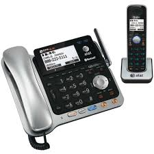 AT&T DECT 6 0 2 Line Corded Cordless Bluetooth Phone System