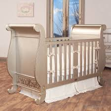 Bratt Decor Crib Skirt by Love This Crib Comes In Silver Espresso White Bratt Decor