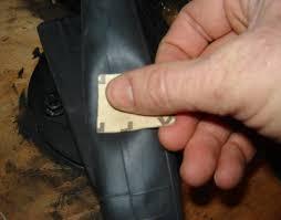 la chambre a air réparer un crevaison et bien coller une rustine