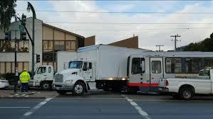 100 Train Vs Truck 5 Hospitalized In Muni Vs Truck Accident In San Francisco