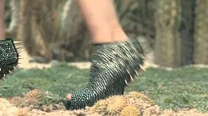 models stumble in the highest of high heels in u201ctwun u201d nowness