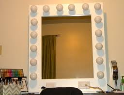 vanity mirror with light bulbs around it makeup mirror with