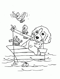 Download Coloring Pages Dogs Free Printable Dog For Kids Online
