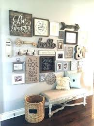 Rustic Kitchen Wall Decor Dining Room Best Ideas On