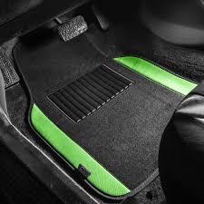 100 Truck Floor Mat BESTFH 4pc Universal Carpet S For Car SUV Green W