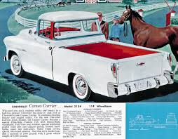 100 Convertible Chevy Truck 195558 Cameo The Worlds First Sport